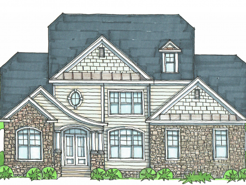 3824 finished sq ft 1000 unfinished First Floor Master 5 or 6 BR 4 BA