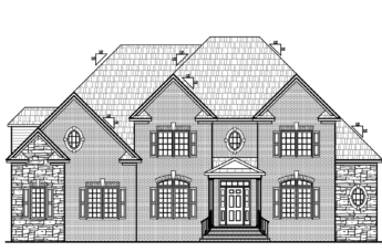4,055 sq ft 735 sq ft unfinished (3rd floor) 1st floor Master Suite 4 BR + bonus room 3.5 BA