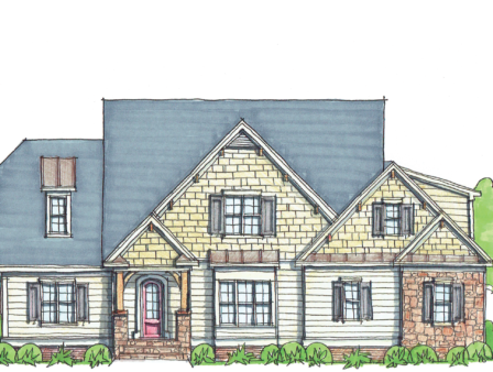 3,923 finished sq ft First Floor Master 4 BR 3.5 BA